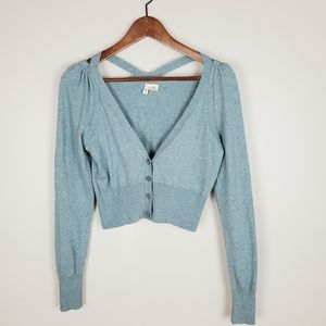 MOTH Kimmel cropped sweater with shoulder cutouts